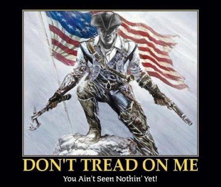 Patriot do not tread on me
