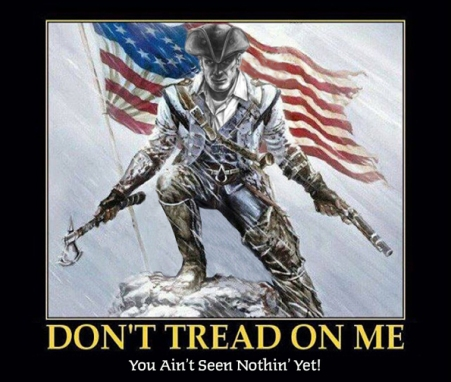 Patriot do not tread on me
