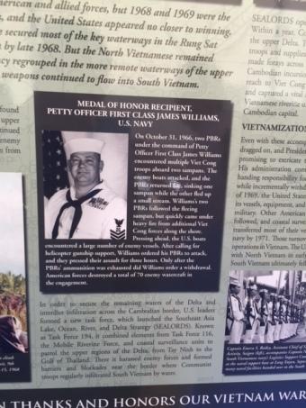 Medal of Honor Winner James Williams