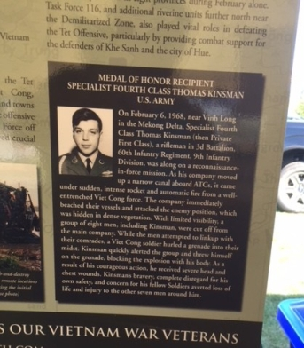 Medal of Honor Winner Thomas Kinsman