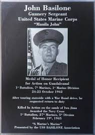 Memorial plaque to JB