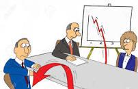 declining sales chart