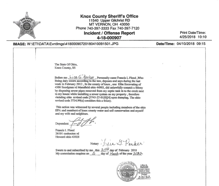 Knox County Sheriff's Report (2)