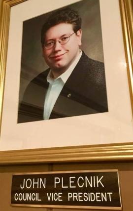 Vice President John Plecnik (1)