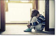 child very sad