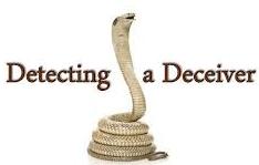 dectecting a deceiver