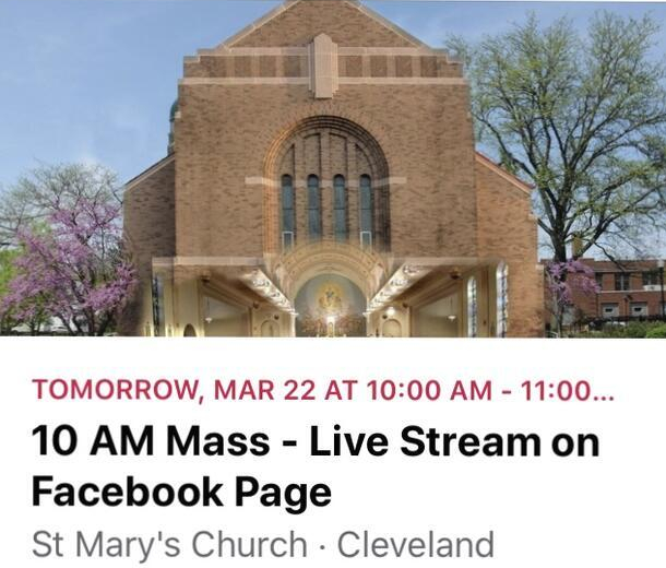 St. Mary's Church live stream 2020