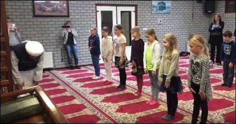 classroom and islam