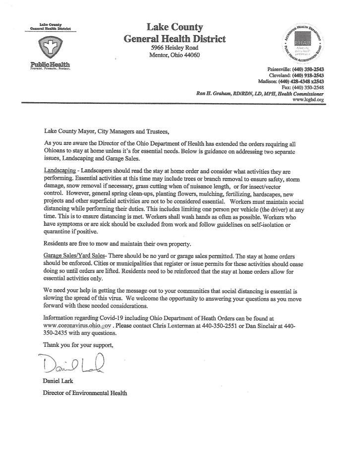 PSA Lake County Health Dept
