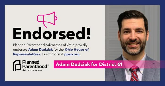 PP endorses Adam Dudziak